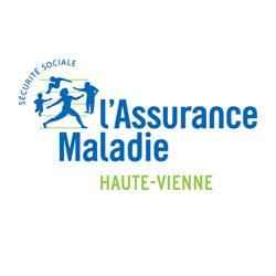 Logo Assurance maladie Haute-Vienne - client Maison Du Coaching